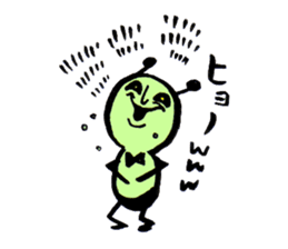 Greeninsect-kun sticker #1363597