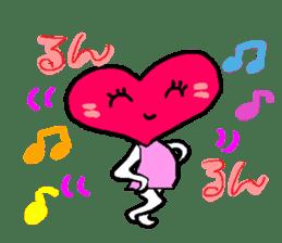 Heart in Love sticker #1363861