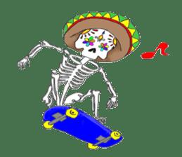 Mexican Skull sticker #1364082
