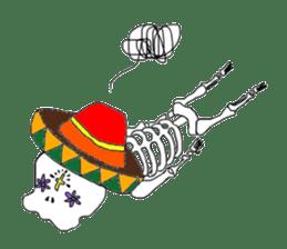 Mexican Skull sticker #1364083