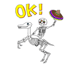 Mexican Skull sticker #1364084