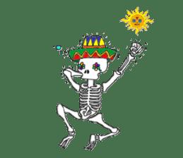 Mexican Skull sticker #1364086