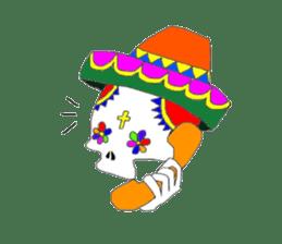 Mexican Skull sticker #1364088