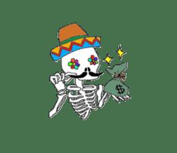 Mexican Skull sticker #1364089