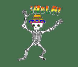 Mexican Skull sticker #1364090