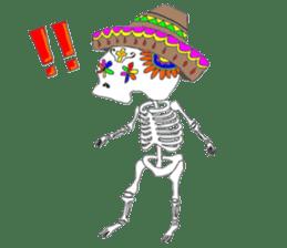 Mexican Skull sticker #1364092