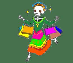 Mexican Skull sticker #1364094