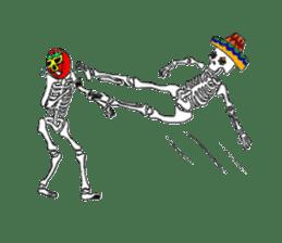 Mexican Skull sticker #1364098