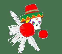 Mexican Skull sticker #1364099
