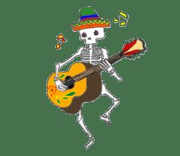 Mexican Skull sticker #1364100