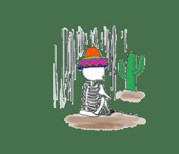 Mexican Skull sticker #1364105