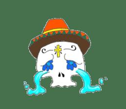 Mexican Skull sticker #1364107