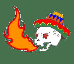 Mexican Skull sticker #1364108