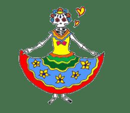 Mexican Skull sticker #1364109