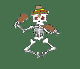 Mexican Skull sticker #1364111