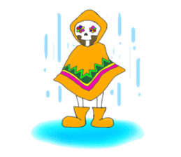 Mexican Skull sticker #1364113