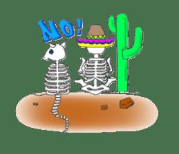 Mexican Skull sticker #1364116