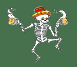 Mexican Skull sticker #1364117