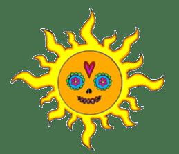 Mexican Skull sticker #1364118