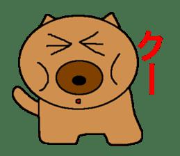 Sticker of a pretty fat dog sticker #1365848