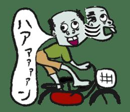 Mr.zombie sticker #1365943