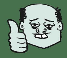 Mr.zombie sticker #1365951