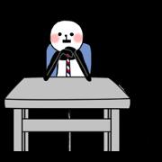 สติ๊กเกอร์ไลน์ Slim panda