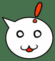 Balloon face sticker #1366764