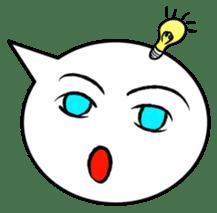 Balloon face sticker #1366766