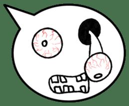 Balloon face sticker #1366790