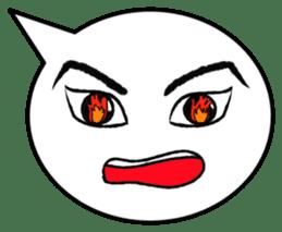 Balloon face sticker #1366793