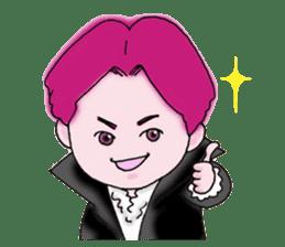 Pink boy sticker #1367402