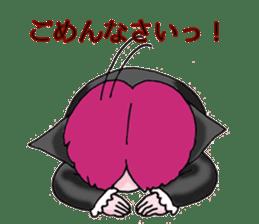 Pink boy sticker #1367412