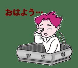 Pink boy sticker #1367425