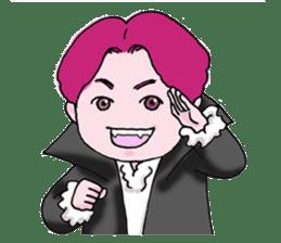 Pink boy sticker #1367427