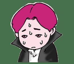 Pink boy sticker #1367431