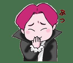 Pink boy sticker #1367432