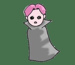 Pink boy sticker #1367441