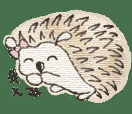 Hedgehogs in Love sticker #1370165