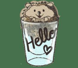 Hedgehogs in Love sticker #1370169