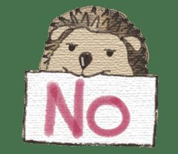 Hedgehogs in Love sticker #1370171