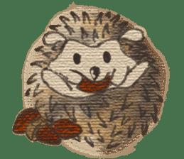 Hedgehogs in Love sticker #1370173