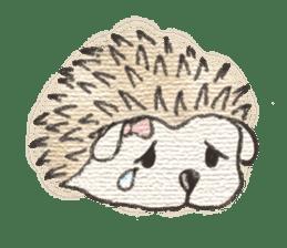 Hedgehogs in Love sticker #1370174