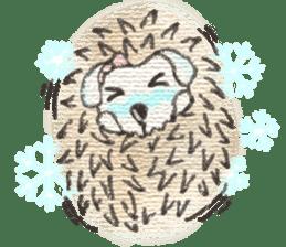Hedgehogs in Love sticker #1370176