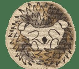Hedgehogs in Love sticker #1370180