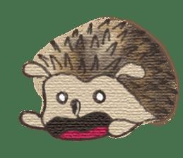 Hedgehogs in Love sticker #1370182