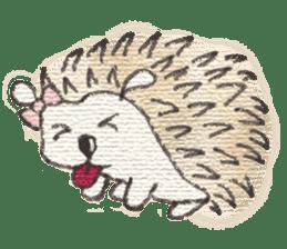 Hedgehogs in Love sticker #1370186