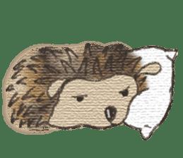 Hedgehogs in Love sticker #1370187