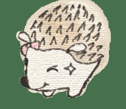 Hedgehogs in Love sticker #1370192