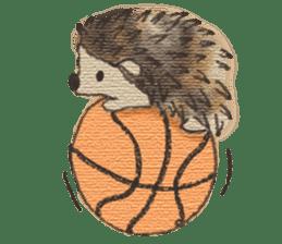 Hedgehogs in Love sticker #1370193